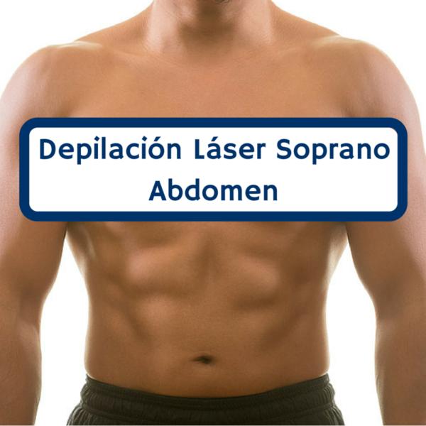 Depilación abdomen
