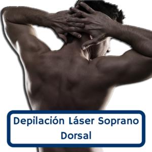 Depilación dorsal