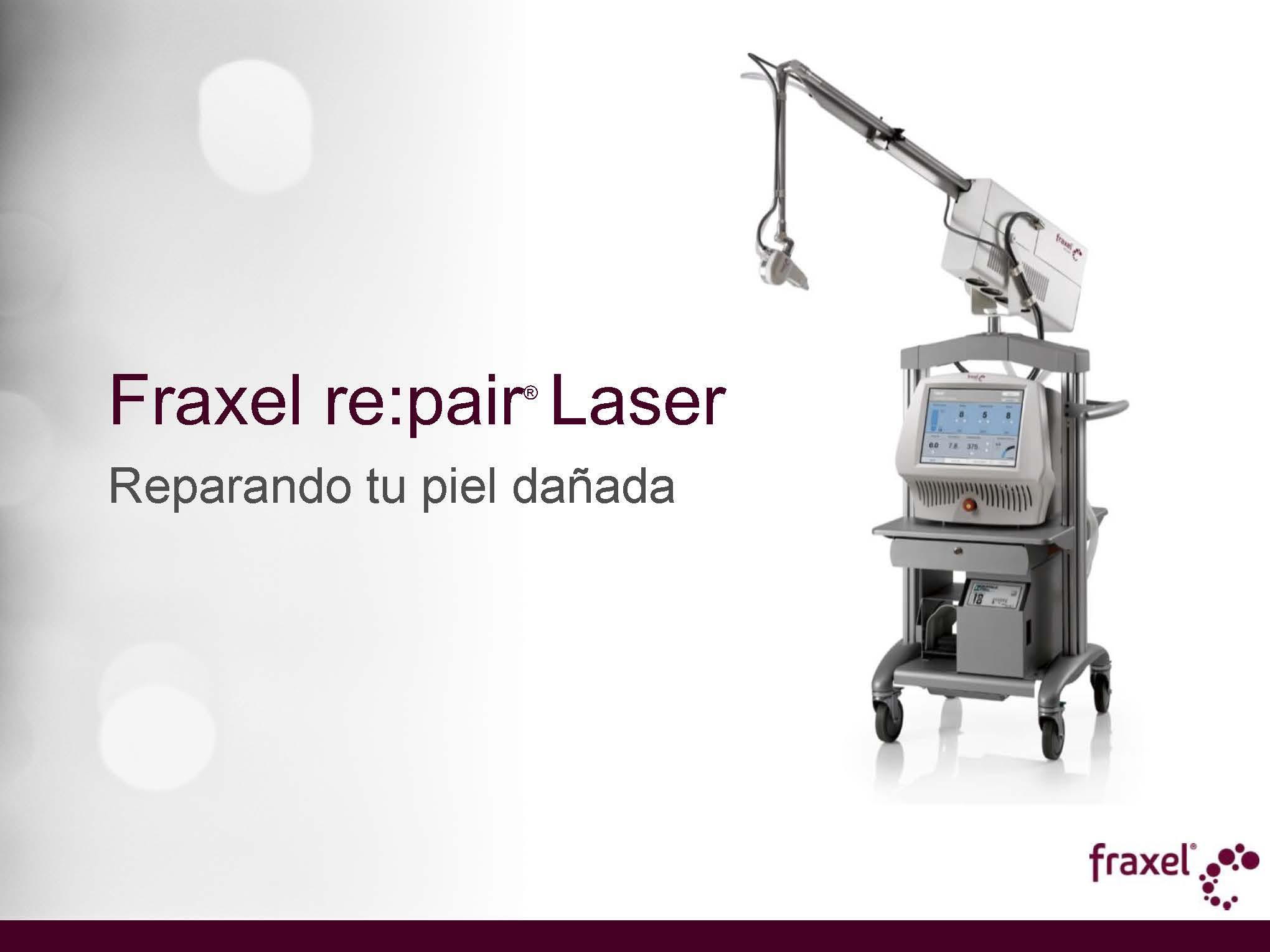Láser Fraxel en Madrid